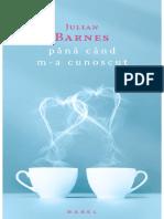 J. Barnes - Pana Cand M-A Cunoscut