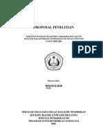 Kumpulan Skripsi Sosiologi Pertanian Kumpulan Laporan Keuangan Akhir Tahun