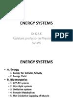 Energy Systems - Ksk