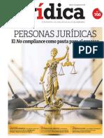 PERSONAS JURÍDICAS El NO compliance como pauta para el proceso