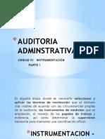 Auditoria Adminstrativa IV