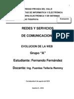 Evolucion de La Web APA6