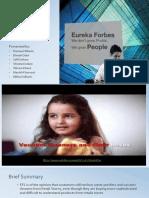 Euerka Forbes Presentation