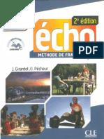 Écho B1 - Livre d'Éleve