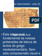 Grego Bíblico Instrumental....pptx