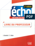 Écho A1 - Livre Du Prof