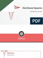 hemifacial spasme