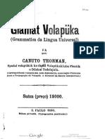 Glamat Volapüka - fa Canuto Thorman