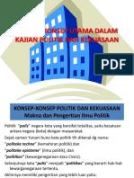 Materi 1 Konsep-konsep Utama Kajian Politik Dan Kekuasaan
