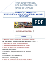 Gestión Patrimonial Del Control Patrimonial de Bienes Estatales