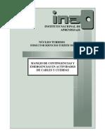 Manejo de Contingencias y Emergencias en Actividades Con Cables y Cuerdas (Tuav 282)