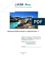 Apostila de Sistemas Estruturais I