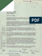 Anti Civil Defense Letter