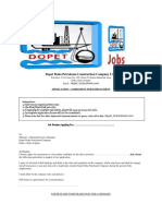 Dopet Doha Petroleum Construction Company Application Form