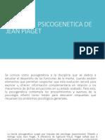 La Teoría Psicogenetica de Jean Piaget
