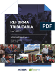 Informe Reforma Tributaria Mayo 2018