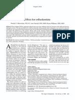 Ethics for Orthodontics