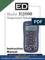 r2800 Manual