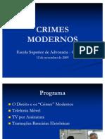 Crimes Modernos