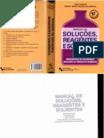 Tokio Morita Manual de Soluções, Reagentes e Solventes