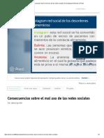 Consecuencias Sobre El Mal Uso de Las Redes Sociales de Guadalupe Gimenez en Prezi