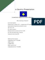 Kosovo Country Presentation