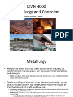 Metallurgy and Corrosion
