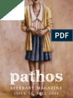 Pathos issue 16 Fall 2011