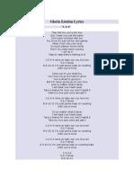 Gloria Estefan Lyrics 123.docx