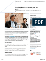 xGewerkschaften boykottieren Gespräche über Lohnschutz - Schweiz