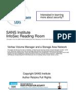 Veritas Volume Manager Storage Area Network 1598