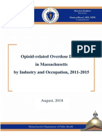 Opioid Industry Occupation Report