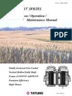 Installation Operation Maintenance Manual(Harvest Series)