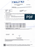 Certificado de Calibração Termômetro Laser