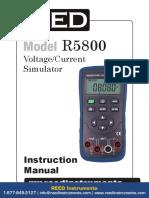 r5800 Manual