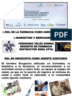 Marketing, Rol Del Droguista Bogota 17-07-2014 Ok