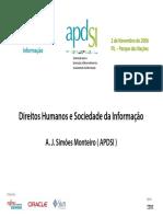 Direitos humanos e sociedade da informação