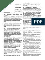 RULE 124 Procedure in CA