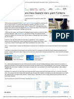 Future Group Partners New Zealand Dairy Giant Fonterra
