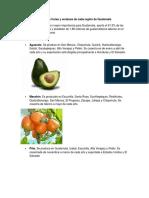 Cultivo de frutas y verduras de cada región de Guatemala.docx