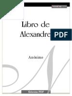 Anonimo - Libro de Alexandre.pdf