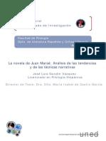 Análisis de Las Tendencias Literarias en Marsé