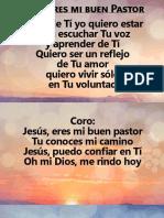 Jesus Eres Mi Buen Pastor