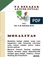 Gaya Belajar (Learning Style)