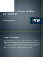 Approach to the Patient With Headache and Facial Pain
