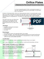 Flow - Orifice, Pitot and Other DP Methods