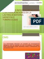 Enfermedad Infectocontagiosa y Contraindicaciones en La Lactancia Materna
