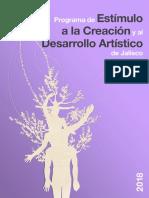 Pecda 2018 Programa de Estimulo a La Creacion 4
