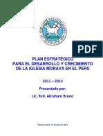 Plan Estratégico - Iglesia Moarava en Peru