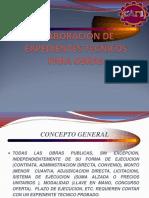Expedientes Tecnicos 1 Diplomado Capi Piura